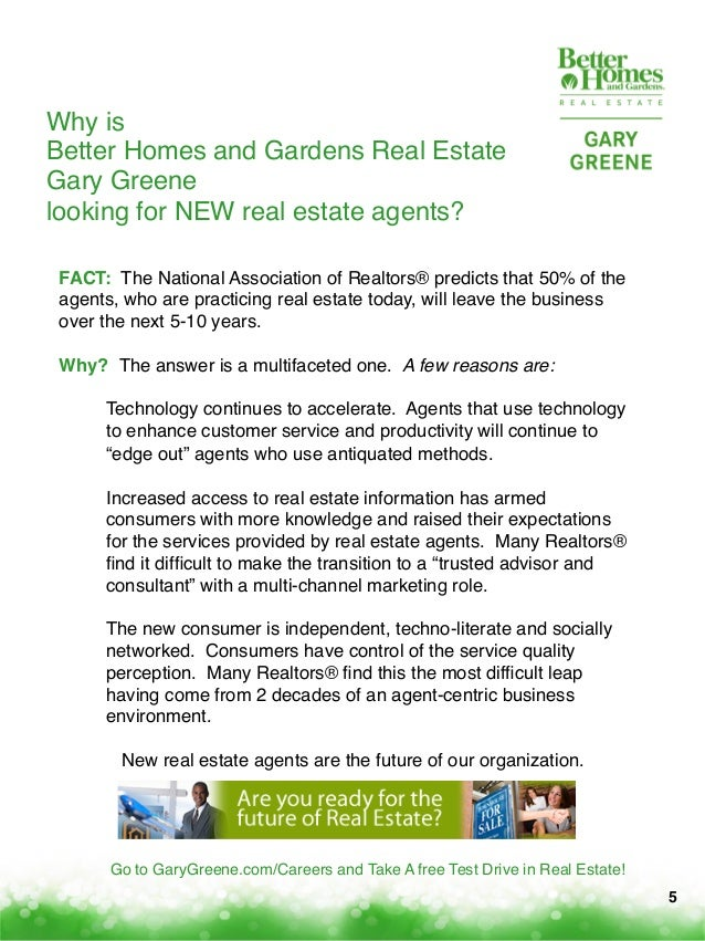 Winning careers with better homes and gardens real estate - Better homes and gardens real estate ...