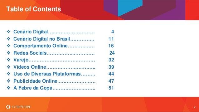 Brasil 2014 Digital Future in Focus Slide 2
