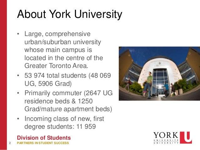 Mature student york university