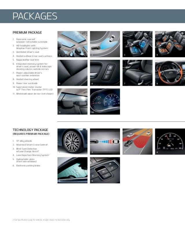 2014 Kia Cadenza Interior: 2014 Kia Cadenza Brochure