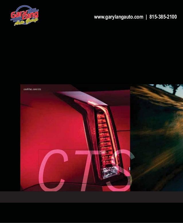 2014 Cadillac CTS Coupe & CTS Wagon Digital Brochure