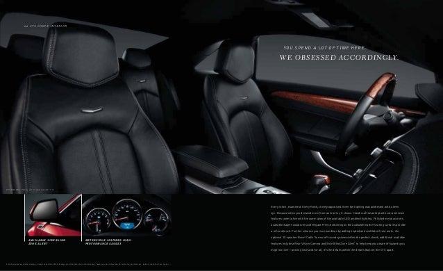 2014 Cadillac Cts V Digital Brochure