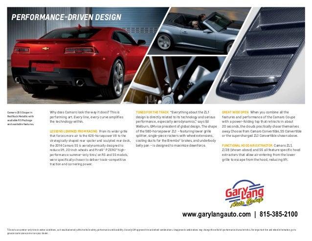 2014 Chevrolet Camaro Brochure