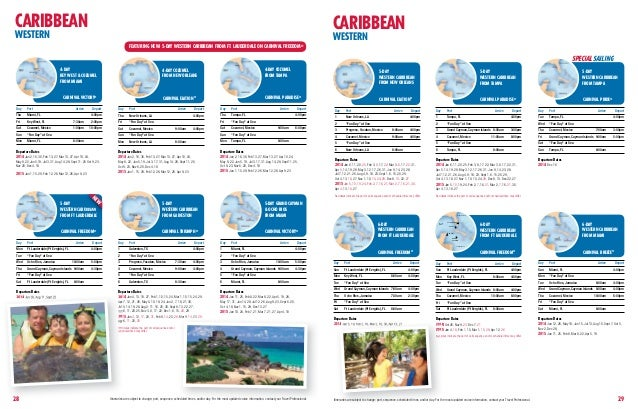 Carnival Cruise Lines 2014