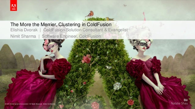 The More the Merrier, Clustering in ColdFusion  Elishia Dvorak | ColdFusion Solution Consultant & Evangelist  Nimit Sharma...
