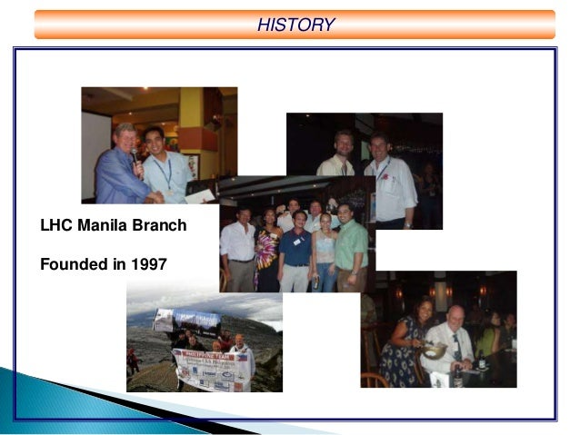 The Lighthouse Club In Manila 2014 Charity Report