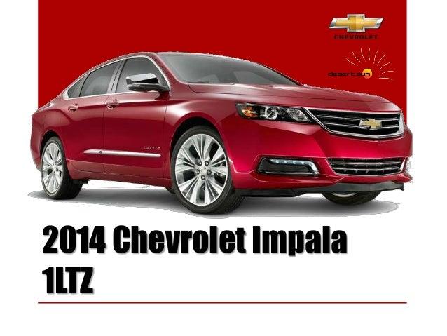 2014 Chevrolet Impala 1LTZ