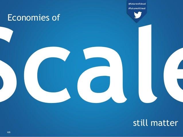 Economies of still matter 105 @futureofcloud #futureofcloud