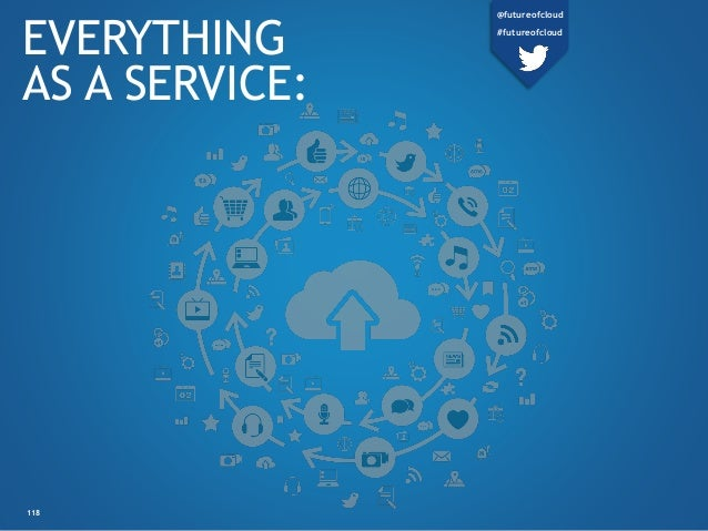 EVERYTHING AS A SERVICE: 118 @futureofcloud #futureofcloud