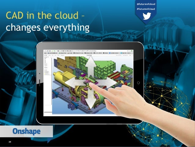 39 CAD in the cloud – changes everything @futureofcloud #futureofcloud