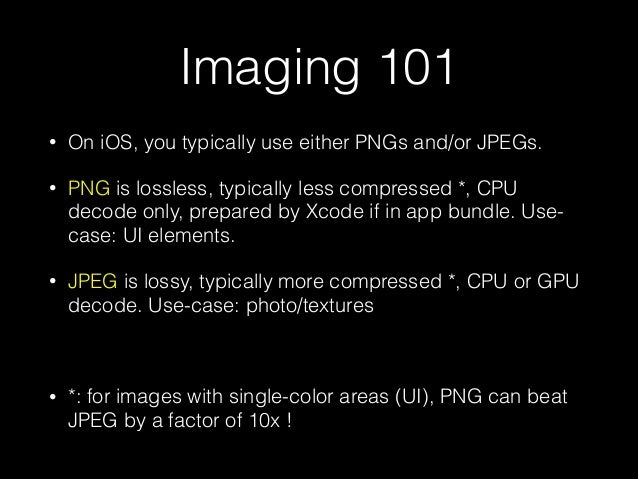 Advanced Imaging on iOS