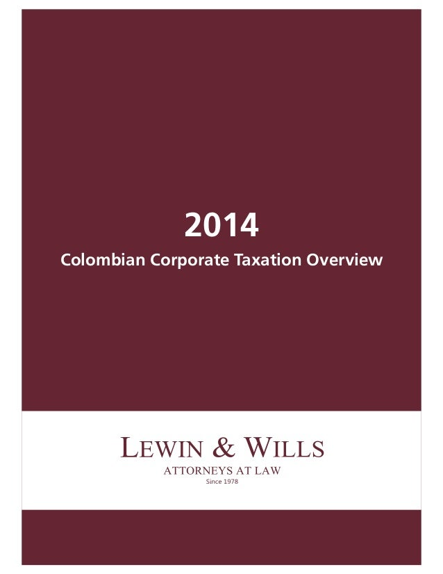 2014 colombian corp_taxation
