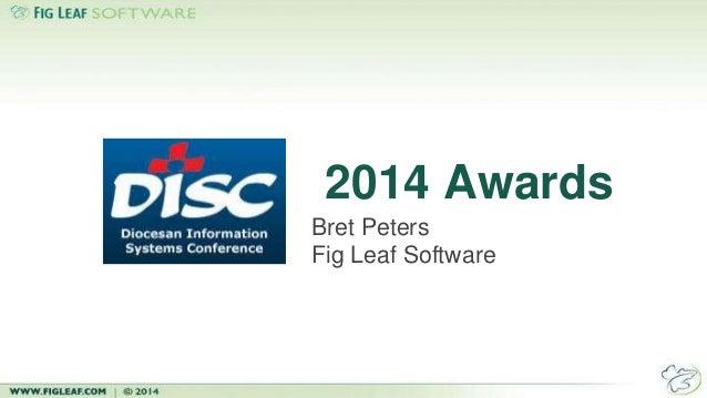 2014 Awards Bret Peters Fig Leaf Software