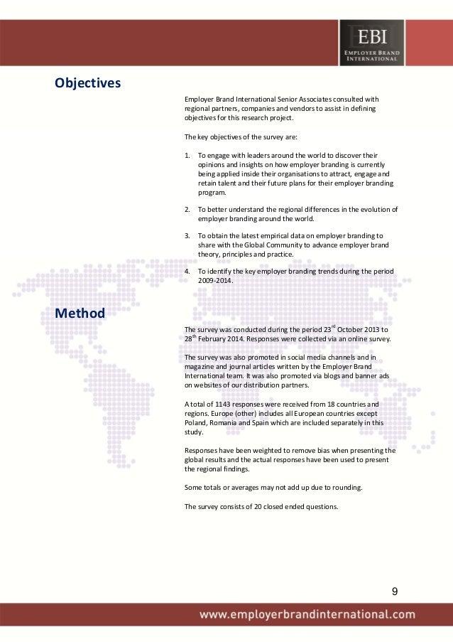 Objectives EmployerBrandInternationalSeniorAssociatesconsultedwith regionalpartners,companiesandvendorstoa...