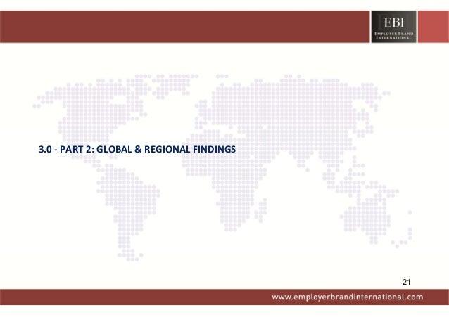 3.0‐PART2:GLOBAL&REGIONALFINDINGS 21