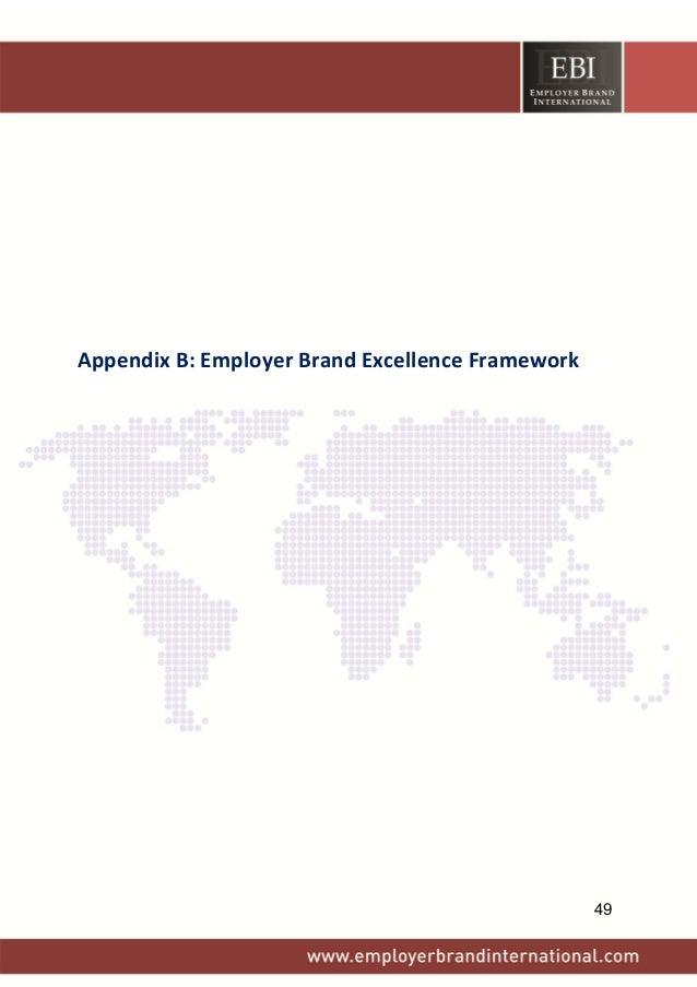 AppendixB:EmployerBrandExcellenceFramework 49