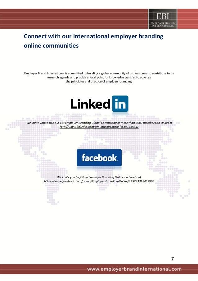 Connectwithourinternationalemployerbranding onlinecommunities      EmployerBrandInternationaliscommitte...