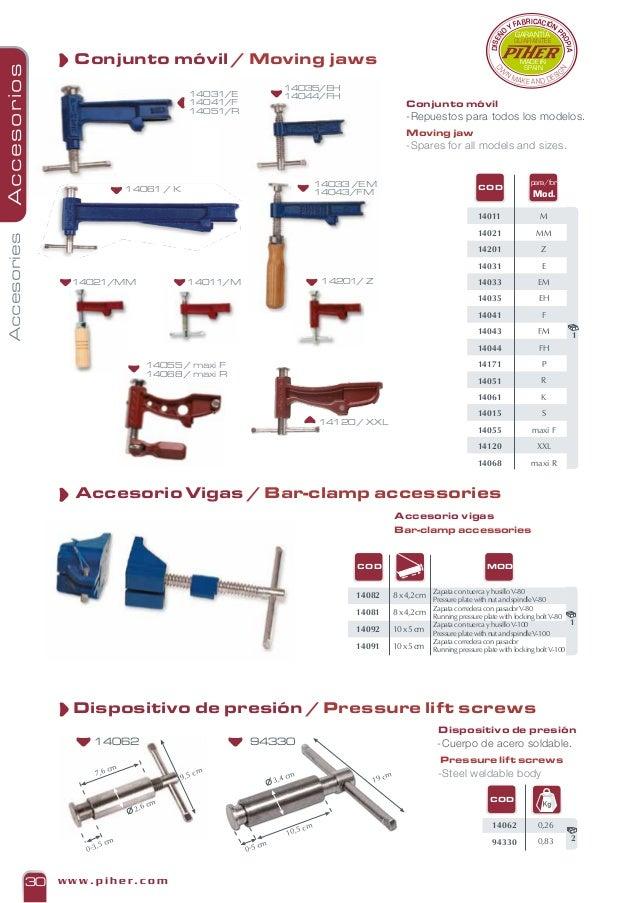 Soporte grip 10 0-6cm 13-19cm Piher 1010