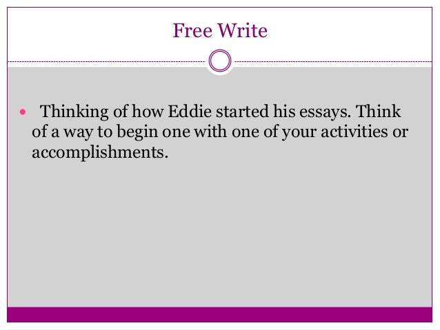 grab readers attention college essay