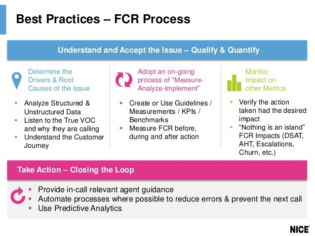 roundtable  best practices in first call resolution  fcr