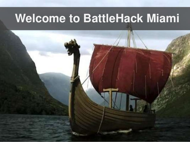 Welcome to BattleHack Miami
