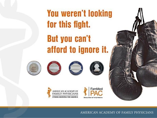 The purpose of FamMedPAC: To elect candidates to the United States Congress who support AAFP's legislative goals and objec...