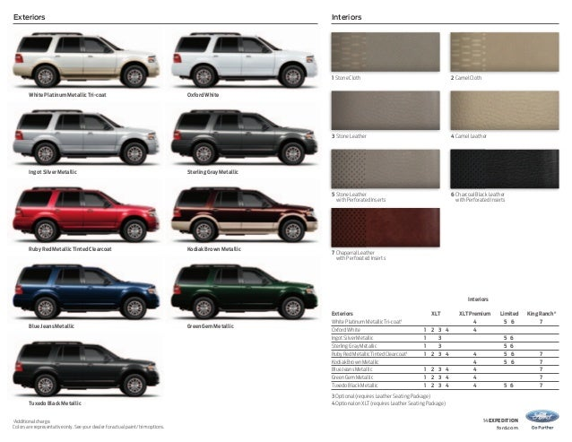 2014 Ford Expedition Brochure