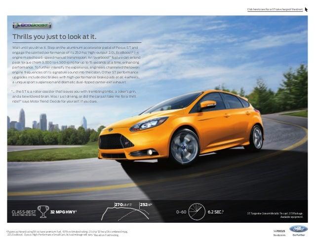 2014 Ford Focus Brochure