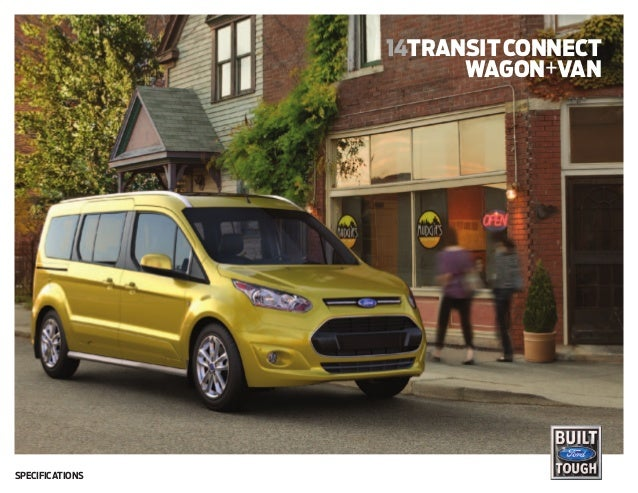 14transitconnect wagon+van Specifications