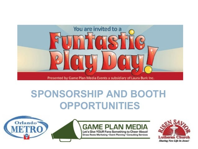 SPONSORSHIP AND BOOTH OPPORTUNITIES