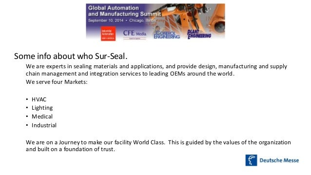 The Building Blocks of Manufacturing Excellence Slide 2