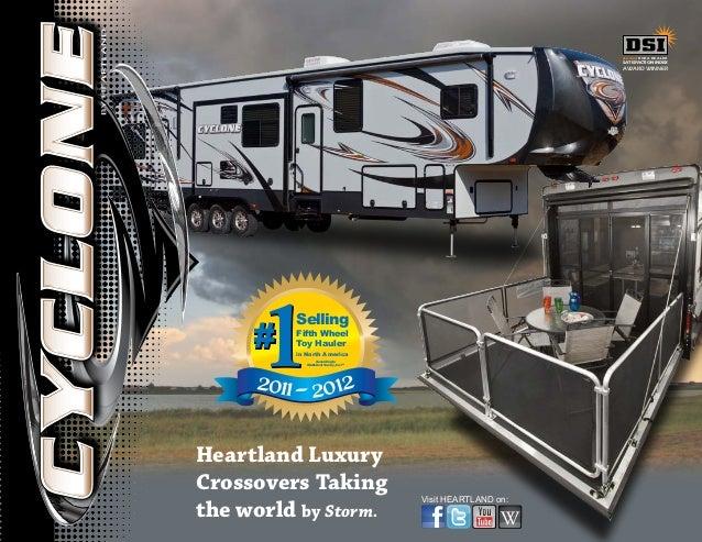 Visit HEARTLAND on:Heartland LuxuryCrossovers Takingthe world by Storm.2011-2012#1#1SellingFifth WheelToy Haulerin North A...