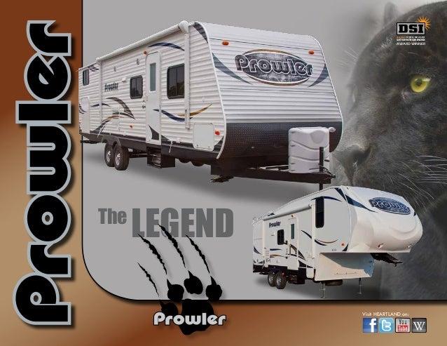 2014 Heartland Prowler Travel Trailer Fifth Wheel