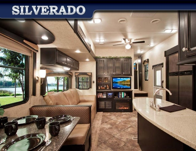 2014 Heartland Silverado By Big Horn Fifth Wheel