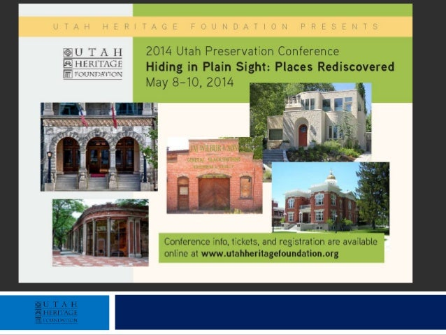 Preservation Conference Sponsors Organization Sponsor Preservation Partners Abstract Masonry Restoration • Capitol Hill Co...