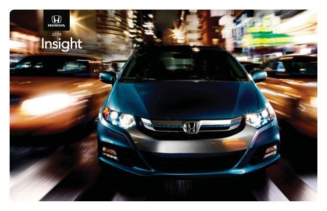 Perfect Honda Dealer Serving Jackson MS   Patty Peck Honda Insight. 2014 Insight ...