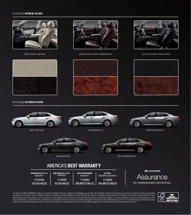 Hyundai Equus Interior Colors   www.indiepedia.org