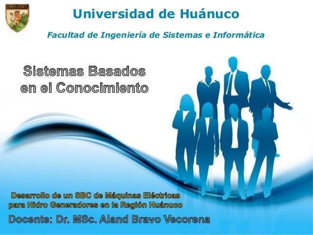 Page 1 Universidad de Huánuco Facultad de Ingeniería de Sistemas e Informática