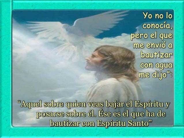 Juan Bautista confiesa a Jesús como el Cordero, el Hijo de Dios.  ¿Quién es Jesús para ti?
