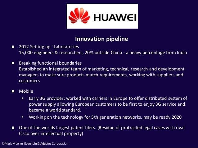 "©Mark Mueller-Eberstein & Adgetec Corporation Innovation pipeline  2012 Setting up ""Laboratories 15,000 engineers & resea..."