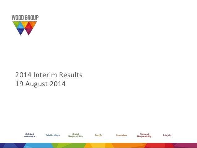 2014 interim results presentation no script