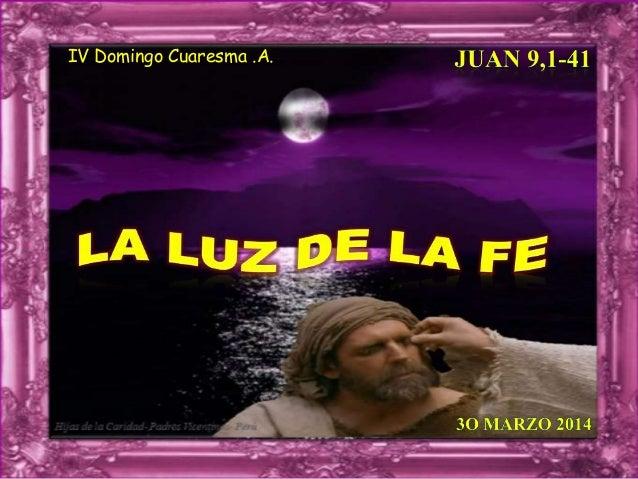 IV Domingo Cuaresma .A.