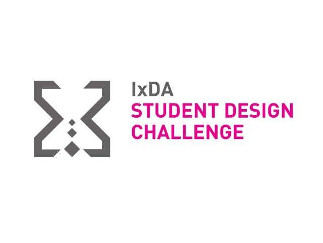 The IxDA's annual Student Design Challenge took place during Interaction14 in Amsterdam, February 4-8, 2014. Seven finalis...