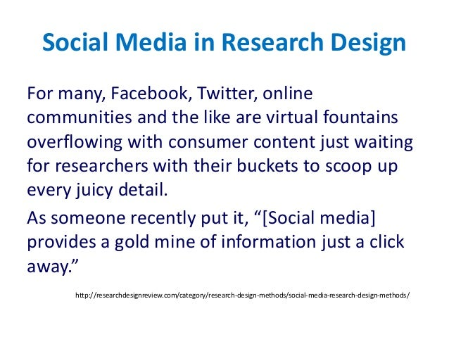 Social Media Research And Statistics