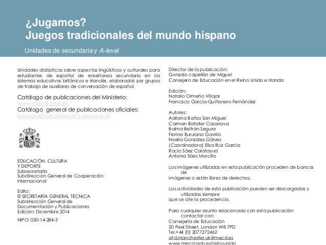 Director de la publicación: Gonzalo capellán de Miguel Consejero de Educación en el Reino Unido e Irlanda Edición: Natalio...