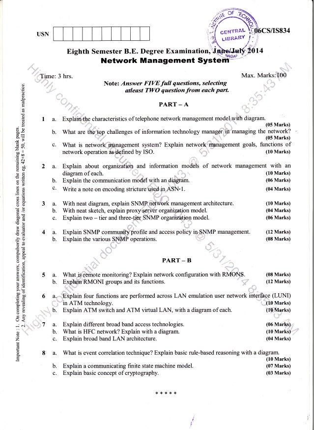 SMU – MBA SOLVED QUESTION PAPERS, MODEL PAPERS, SAMPLE PAPERS