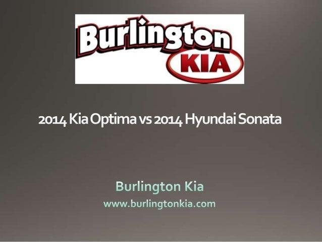 2014 Kia Optima  2014 Hyundai Sonata
