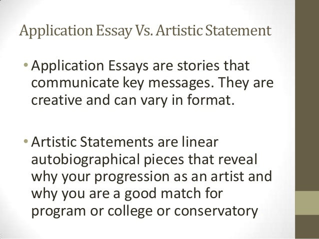 Artist Statement Format  BesikEightyCo