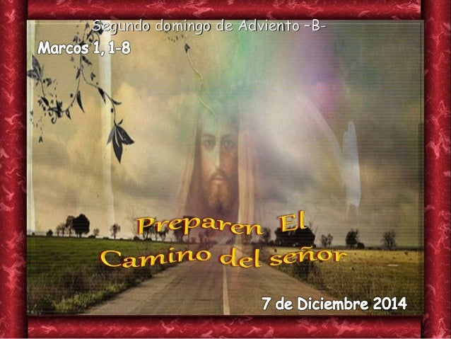 Segundo domingo de Adviento –B-
