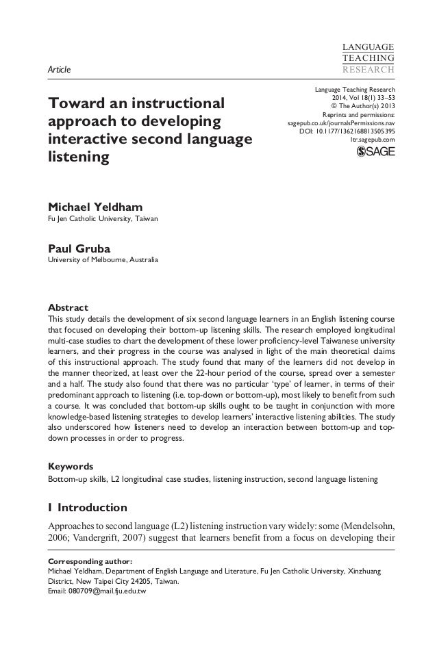 Language Teaching Research 2014, Vol 18(1) 33–53 © The Author(s) 2013 Reprints and permissions: sagepub.co.uk/journalsPer...